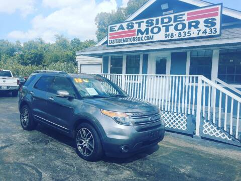 2013 Ford Explorer for sale at EASTSIDE MOTORS in Tulsa OK