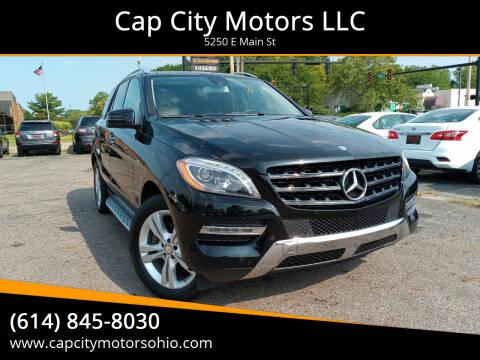 2014 Mercedes-Benz M-Class for sale at Cap City Motors LLC in Columbus OH