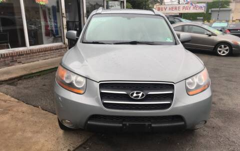 2008 Hyundai Santa Fe for sale at Rallye  Motors inc. in Newark NJ