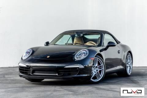 2013 Porsche 911 for sale at Nuvo Trade in Newport Beach CA