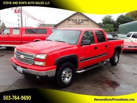 2006 Chevrolet Silverado 1500HD for sale at Steve & Sons Auto Sales in Happy Valley OR