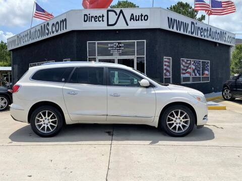 2014 Buick Enclave for sale at Direct Auto in D'Iberville MS