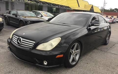 2008 Mercedes-Benz CLS for sale at Castle Used Cars in Jacksonville FL