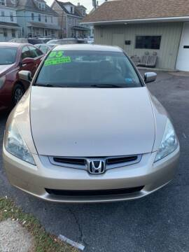 2005 Honda Accord for sale at Butler Auto in Easton PA