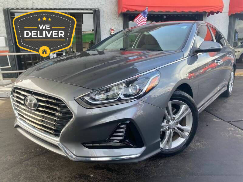 2018 Hyundai Sonata for sale at LATINOS MOTOR OF ORLANDO in Orlando FL