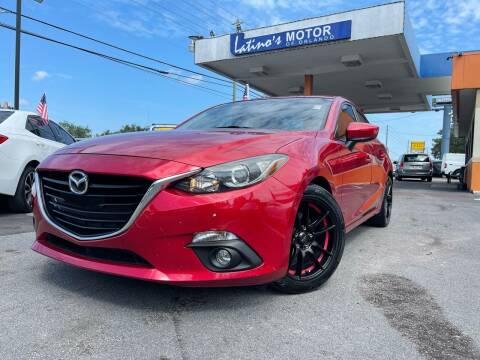 2016 Mazda MAZDA3 for sale at LATINOS MOTOR OF ORLANDO in Orlando FL