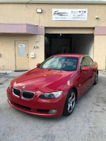 2007 BMW 3 Series for sale at GERMANY TECH in Boca Raton FL