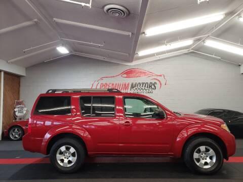 2010 Nissan Pathfinder for sale at Premium Motors in Villa Park IL