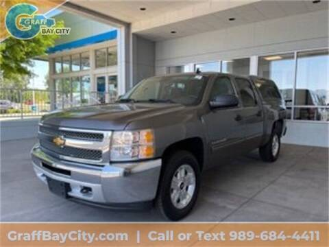 2013 Chevrolet Silverado 1500 for sale at GRAFF CHEVROLET BAY CITY in Bay City MI