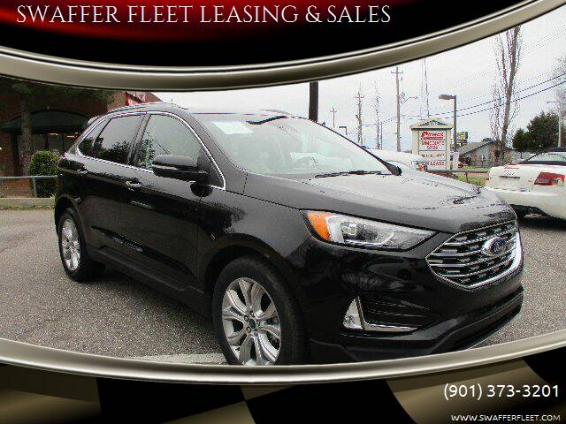 2019 Ford Edge for sale at SWAFFER FLEET LEASING & SALES in Memphis TN
