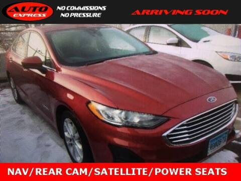 2019 Ford Fusion Hybrid for sale at Auto Express in Lafayette IN
