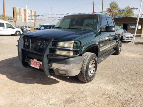 2003 Chevrolet Silverado 2500HD for sale at Bickham Used Cars in Alamogordo NM