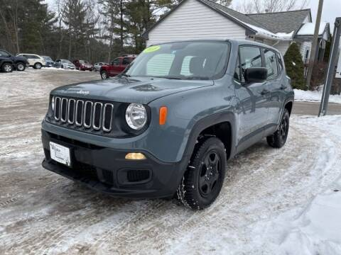 2018 Jeep Renegade for sale at Williston Economy Motors in Williston VT