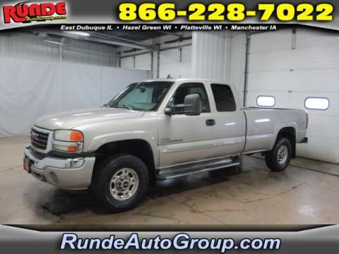 2006 GMC Sierra 2500HD for sale at Runde Chevrolet in East Dubuque IL
