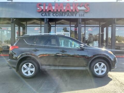 2014 Toyota RAV4 for sale at Siamak's Car Company llc in Salem OR