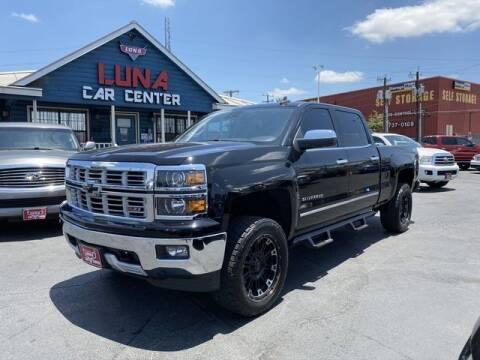 2015 Chevrolet Silverado 1500 for sale at LUNA CAR CENTER in San Antonio TX