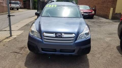 2013 Subaru Outback for sale at 216 Automotive Group in Cleveland OH