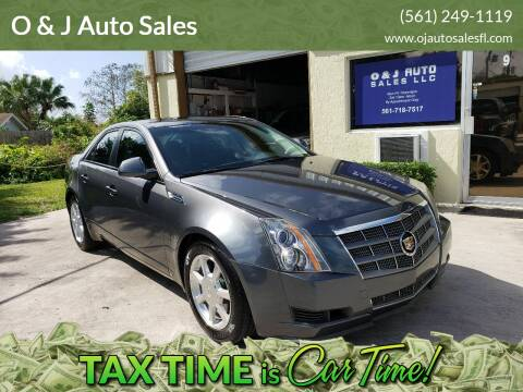 2008 Cadillac CTS for sale at O & J Auto Sales in Royal Palm Beach FL