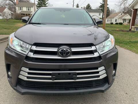 2018 Toyota Highlander for sale at Via Roma Auto Sales in Columbus OH