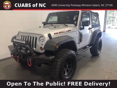 2011 Jeep Wrangler for sale at Summit Credit Union Auto Buying Service in Winston Salem NC