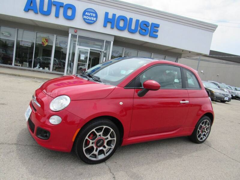 2012 FIAT 500 for sale at Auto House Motors in Downers Grove IL