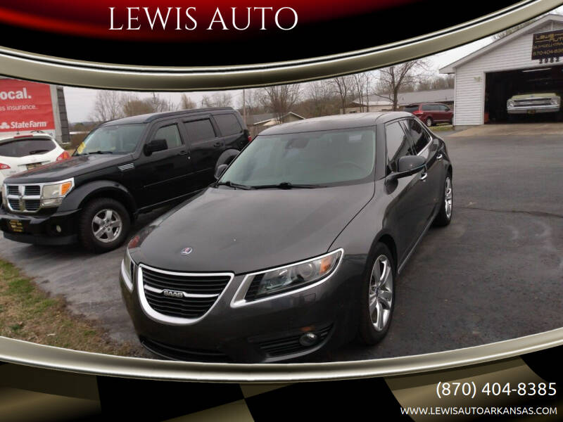 2011 Saab 9-5 for sale at LEWIS AUTO in Mountain Home AR