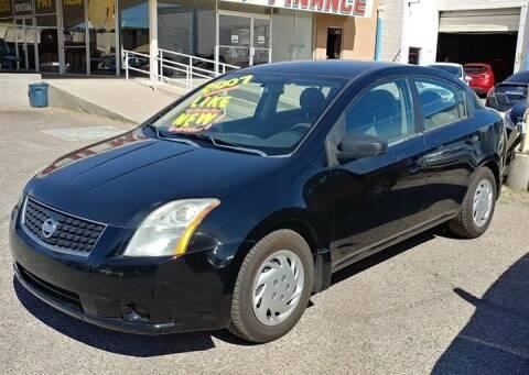 2007 Nissan Sentra for sale at 4 U MOTORS in El Paso TX