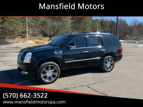 2007 Cadillac Escalade for sale at Mansfield Motors in Mansfield PA