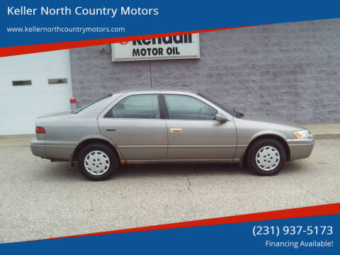 1998 Toyota Camry for sale at Keller North Country Motors in Howard City MI