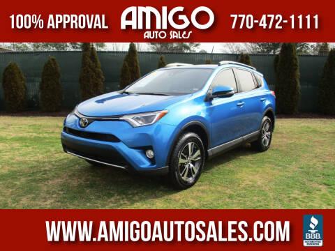 2018 Toyota RAV4 for sale at Amigo Auto Sales in Marietta GA