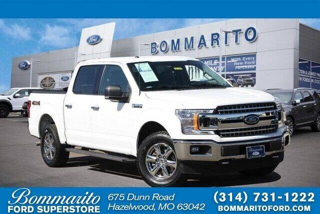 2018 Ford F-150 for sale at NICK FARACE AT BOMMARITO FORD in Hazelwood MO
