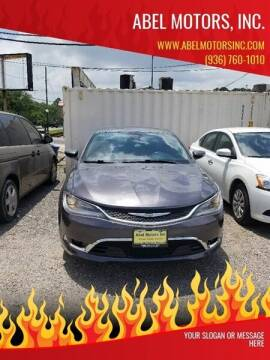 2015 Chrysler 200 for sale at Abel Motors, Inc. in Conroe TX