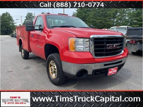 2008 GMC Sierra 2500HD for sale at TTC AUTO OUTLET/TIM'S TRUCK CAPITAL & AUTO SALES INC ANNEX in Epsom NH