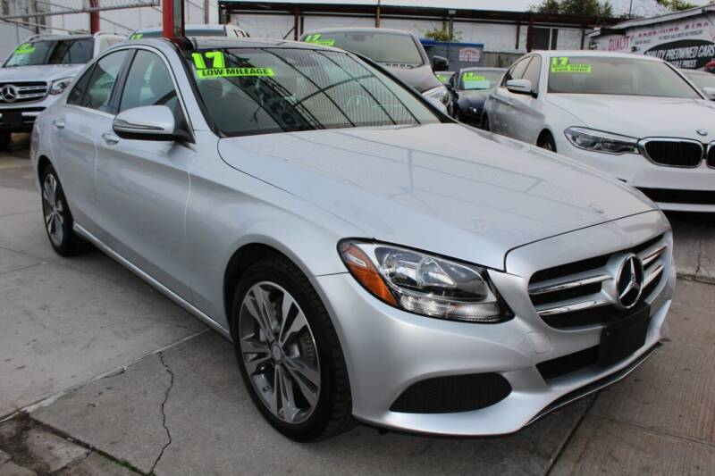 2017 Mercedes-Benz C-Class for sale at LIBERTY AUTOLAND INC in Jamaica NY