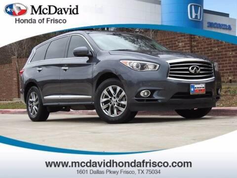 2014 Infiniti QX60 for sale at DAVID McDAVID HONDA OF IRVING in Irving TX