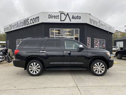 2017 Toyota Sequoia for sale at Direct Auto in D'Iberville MS