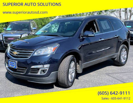 2016 Chevrolet Traverse for sale at SUPERIOR AUTO SOLUTIONS in Spearfish SD