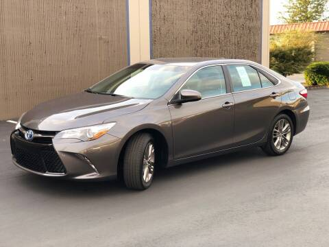 2017 Toyota Camry Hybrid for sale at Exelon Auto Sales in Auburn WA