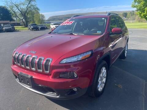 2015 Jeep Cherokee for sale at Chilson-Wilcox Inc Lawrenceville in Lawrenceville PA