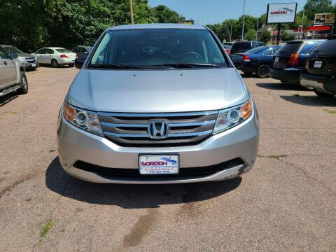 2013 Honda Odyssey for sale at Gordon Auto Sales LLC in Sioux City IA