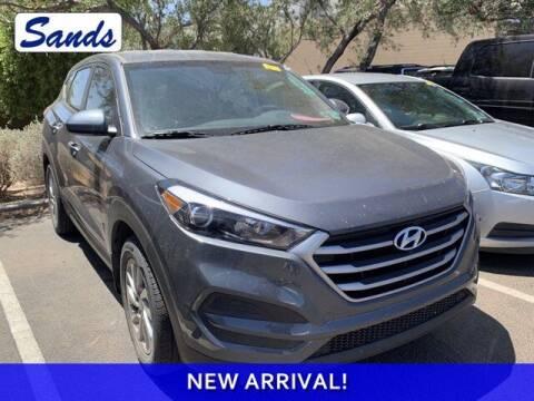 2018 Hyundai Tucson for sale at Sands Chevrolet in Surprise AZ