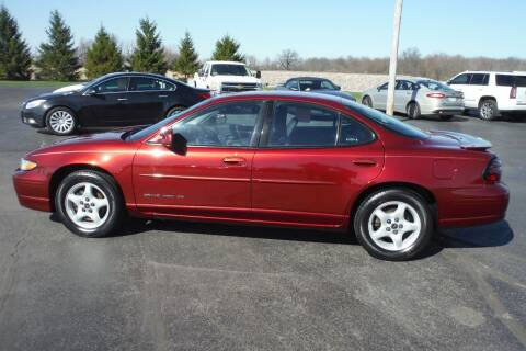 2002 Pontiac Grand Prix for sale at Bryan Auto Depot in Bryan OH