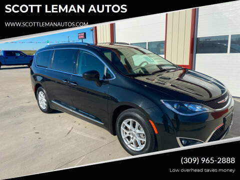 2020 Chrysler Pacifica for sale at SCOTT LEMAN AUTOS in Goodfield IL