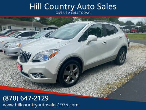 2014 Buick Encore for sale at Hill Country Auto Sales in Maynard AR