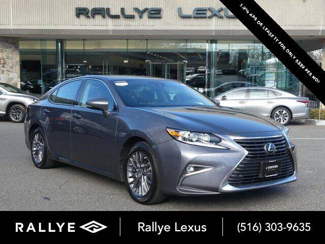 2018 Lexus ES 350 for sale at RALLYE LEXUS in Glen Cove NY