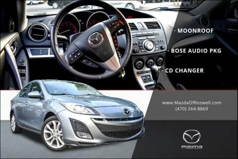 2010 Mazda MAZDA3 for sale at Mazda Of Roswell in Roswell GA