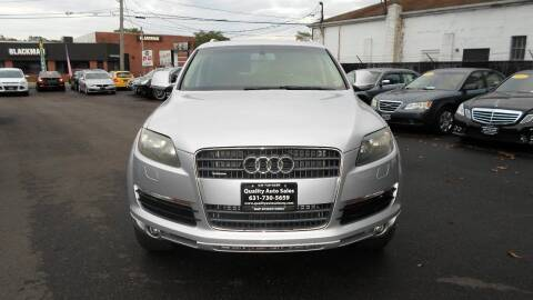 2009 Audi Q7 for sale at QUALITY AUTO SALES OF NEW YORK in Medford NY