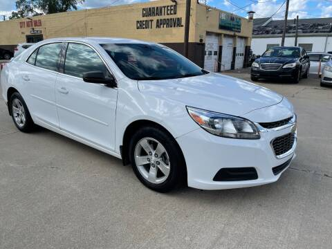 2016 Chevrolet Malibu Limited for sale at City Auto Sales in Roseville MI