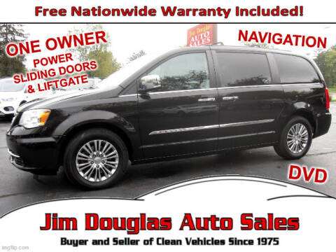 2014 Chrysler Town and Country for sale at Jim Douglas Auto Sales in Pontiac MI