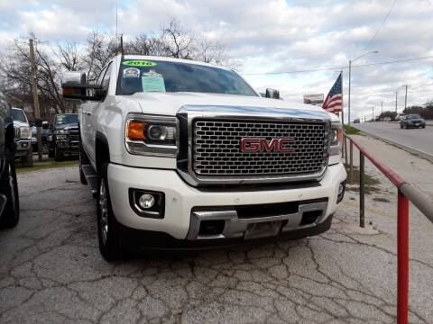 2016 GMC Sierra 2500HD for sale at Speedway Motors TX in Fort Worth TX
